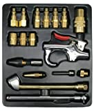 Ampro A1460 18 Piece Air Tool Accessory Kit Milton Type