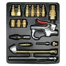 Ampro A1460 18 Piece Air Tool Accessory Kit Milton Type