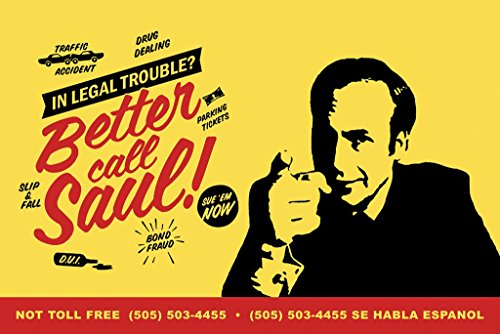 Better Call Saul, TV Show Poster 24in x 36in