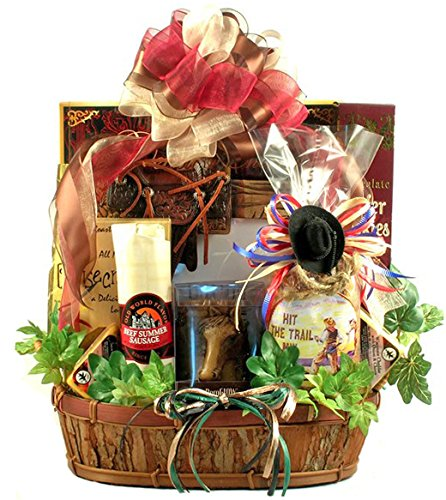 Western Themed Gift Basket for Horse Lovers by Gifts to Impress