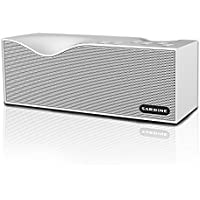 Sardine Portable Wireless Bluetooth Speakers with FM Radio, 10W HD speaker.12 hours playtime Support TF card ,Powerful Sound Bluetooth Speaker for Apple iPhone, iPad, Samsung GALAXY Series(White)