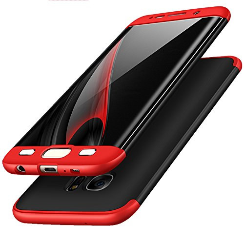 Slim Fit Protective Case for Samsung Galaxy S6 edge (Black) - 2