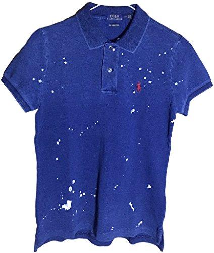 Ralph Lauren Womens Skinny Polo Pony Logo T-Shirt (S, IngoPntS)