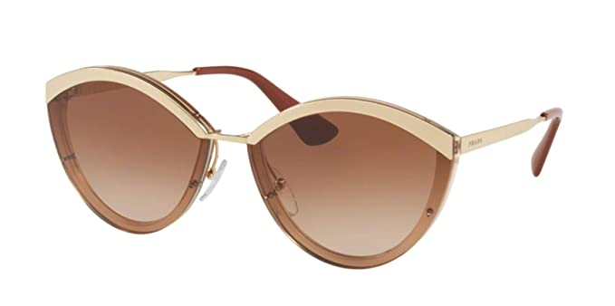 c73f3d044adc Image Unavailable. Image not available for. Color  Prada PR07US Sunglasses  Sand Gold Brown ...