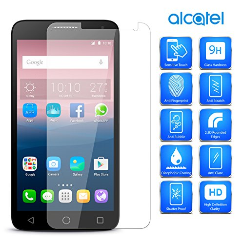 MobiBax For Huawei Honor 6A Dli L22 Tempered Glass Screen Protector By Hd Transparency 9H Hardness 0.3Mm Flat Surface 2D Glass clear