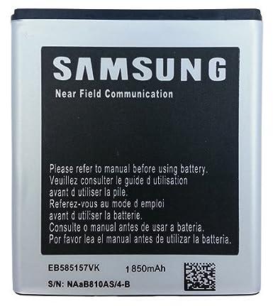 amazon com samsung eb585157vk 1850 mah battery for samsung galaxy s rh amazon com Galaxy S2 4G LTE Samsung Galaxy S III