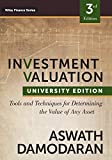 img - for Investment Valuation: Tools and Techniques for Determining the Value of any Asset, University Edition book / textbook / text book