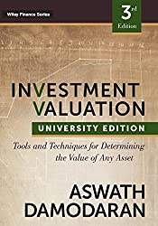 Image of the product Investment Valuation: that is listed on the catalogue brand of imusti.