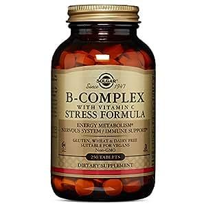 Solgar - B-Complex with Vitamin C Stress Formula Tablets 250 Count