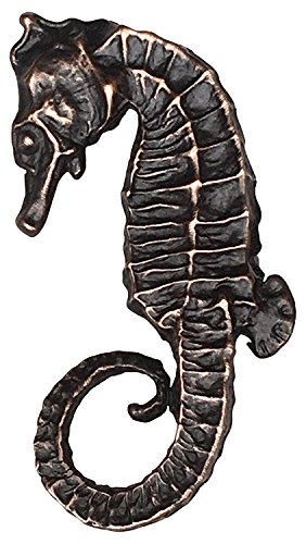D'Artefax DHK91-ORB Seahorse (Left Facing) Decorative sea Life knob Oil Rub Bronze
