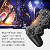PS3 Controller 2 Pack Wireless 6-axis Dual Shock