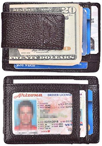 Hopsooken Pocket Wallet Leather Minimalist
