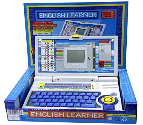 store insanetoysâ® kid's english learner laptop/educational notebook computer large (Multi color)
