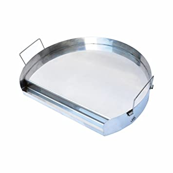 e2c91468271db Onlyfire Universal Stainless Steel Kettle Griddle for BBQ Kettle Charcoal  Grill, Ceramic Grills and Most