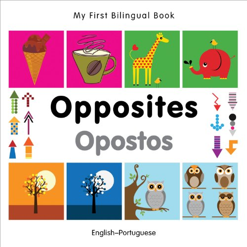 My First Bilingual Book–Opposites (English–Portuguese)