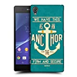 Head Case Designs Anchor for the Soul Christian Typography Protective Snap-on Hard Back Case Cover for Sony Xperia Z2 D6502 D6503