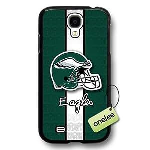 NFL Philadelphia Eagles Team Logo Samsung Galaxy S4 Black Hard Plastic Case Cover - Black