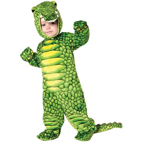 [Underwraps Costumes Baby's Turtle Costume Jumpsuit, Green/ Yellow, Large (2T-4T)] (Finding Nemo Costume 2t)