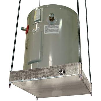 Holdrite 30-SWHP-M QuickStand Water Heater Platform, 20-Gallon, Aluminum