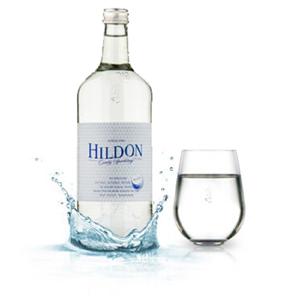 Hildon Naturally (Sparkling) Mineral Water, 11.1 oz Glass Bottles (12 Pack)