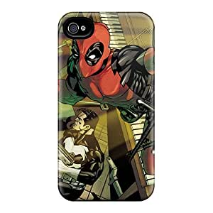 Shock Absorption Hard Cell-phone Case For Iphone 6plus (yPd11250Xvbf) Unique Design Trendy Deadpool I4 Pictures