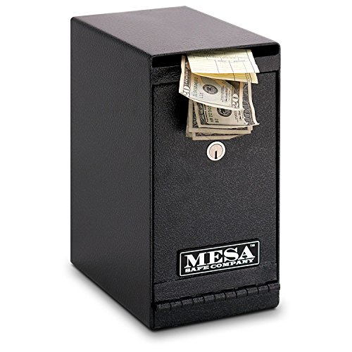 Mesa Safe All Steel Undercounter Depository Safe, 0.2 Cubic ()