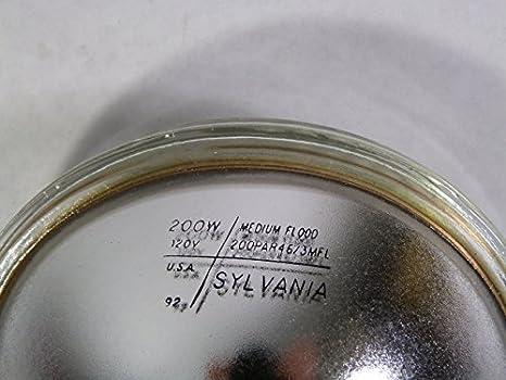 Sylvania PAR46//3MFL 200W 120V Medium Flood Light