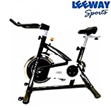 Leeway NB-S2 Exercise Fitness Spin Bike For Home Gym/Elliptical Trainer