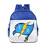 LnEir Superb Tampa Bay Sports Logo Mixed Teenager School Backpack For Boys And Girls RoyalBlue