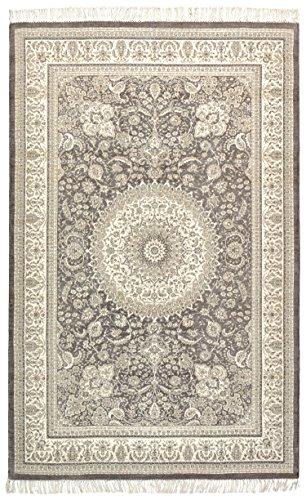 Stone & Beam Mid-Century Modern Dusk Wool Rug, 5' x 8', Tan by Stone & Beam