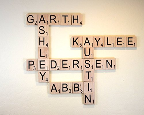 Large Scrabble Tile - Large Wood Scrabble Letter - 3.5