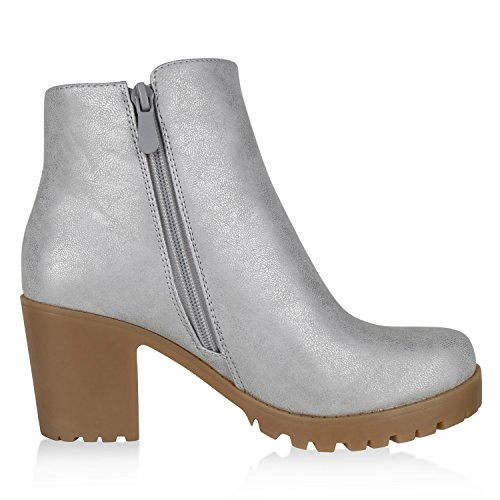 best-boots Botines para mujer Silber Nuovo