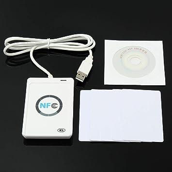 Yongse NFC ACR122U RFID Smart Reader & Writer/USB + SDK + Mifare ...