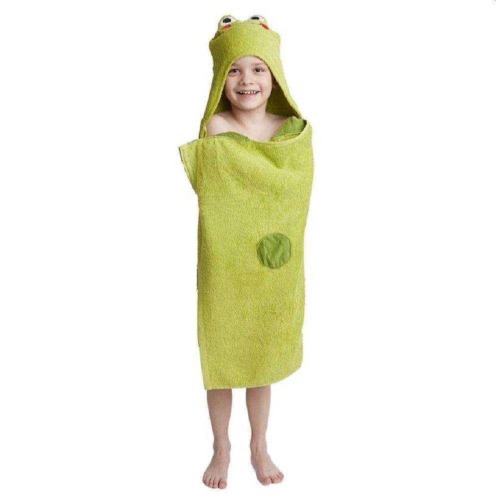 Jumping Beans Animal Hooded Bath Towel Wrap - 25'' x 50 (TIGER)