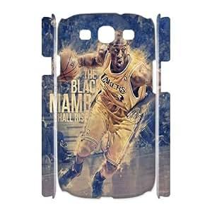 Custom Kobe Bryant I9300 3D Phone Case, Kobe Bryant DIY 3D Cell Phone Case for Samsung Galaxy S3 I9300 at Lzzcase
