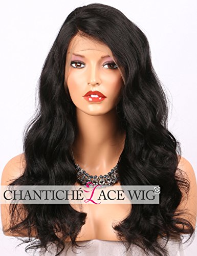 Search : Chantiche Pre Plucked 360 Body Wave Lace Frontal Wig with Right Deep Parting Brazilian Virgin Human Hair Wigs for African American Women with Baby Hair 12inch Natural Color
