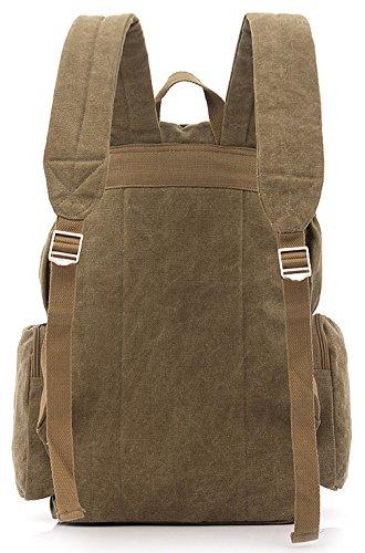 Longzibog Dual verstellbare Schultergurte und Hängeschlaufenband Mode Damen accessories hohe Qualität Einfache Tasche Schultertasche Freizeitrucksack Tasche Rucksäcke Schwarz