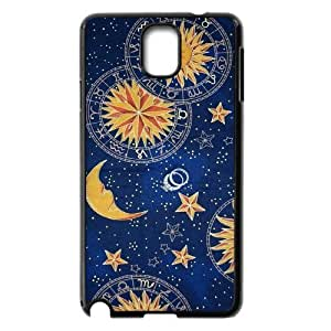 Sun Moon Pattern Use Your Own Image Phone Case for Samsung Galaxy Note 3 N9000,customized case cover ygtg542613