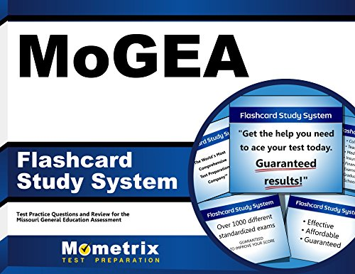 MoGEA Flashcard Study System: MoGEA Test Practice Questions & Exam Review for the Missouri General Education Assessment (Cards)