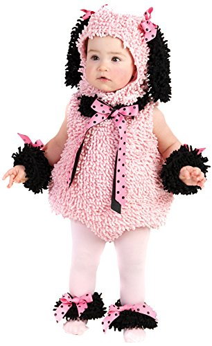 Pink Poodle Infant/Toddler Costume(12-18 Months-Pink) (Cute Baby Costumes For Girls)