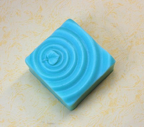 Blue Wave Silicone (Longzang water wave S0207 apCraft Art Silicone Soap mold Craft Molds DIY Handmade soap molds)