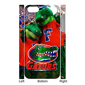 Generic Customize Unique Otterbox--NCAA Florida Gators Team Logo Plastic Case Cover for iPhone5 iPhone5S