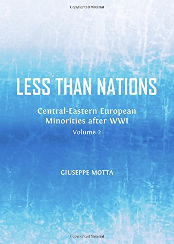 Less Than Nations: Central-eastern European Minorities After Wwi pdf epub