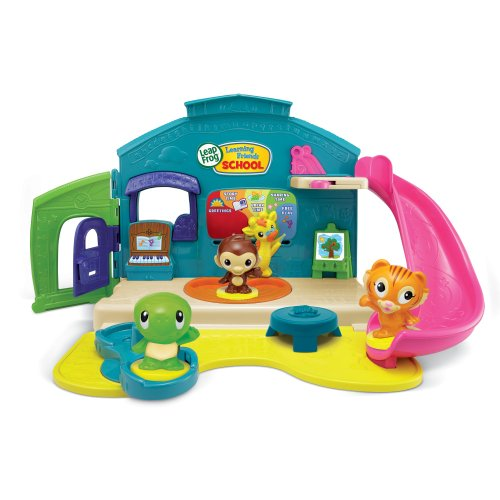 LeapFrog Learning Friends Preschool Play Set (Leapfrog Learning Friends Play And Discover School Set)
