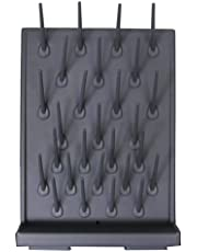 Drying Rack PP 27 Pegs Black Color Removable Pegs Wall Mount Lab Clean Equipment(ITE#211058)