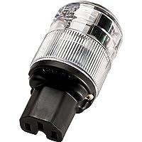 Wattgate 320i-CLR IEC Power Connector Clear
