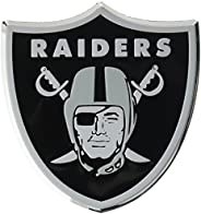 """NFL Oakland Raiders Die Cut Color Automobile Emblem, Team Color, 4"""""""