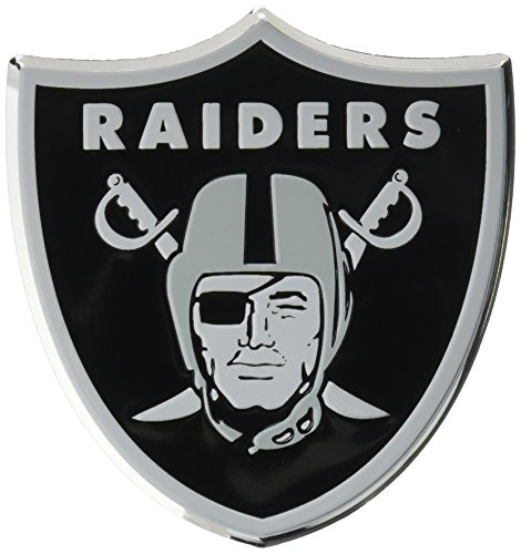 NFL Oakland Raiders Die Cut Color Automobile Emblem