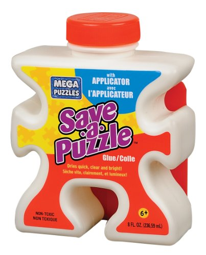 - Mega Puzzles Save-a-Puzzle Glue, 8 Oz