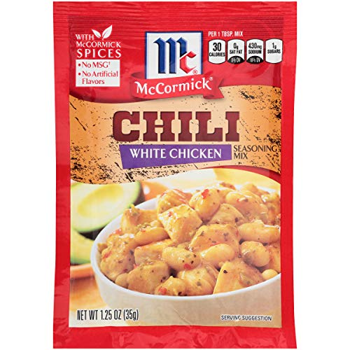 (McCormick White Chicken Chili Seasoning Mix, 1.25)